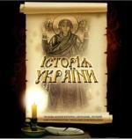 ЗНО по истории Украиины